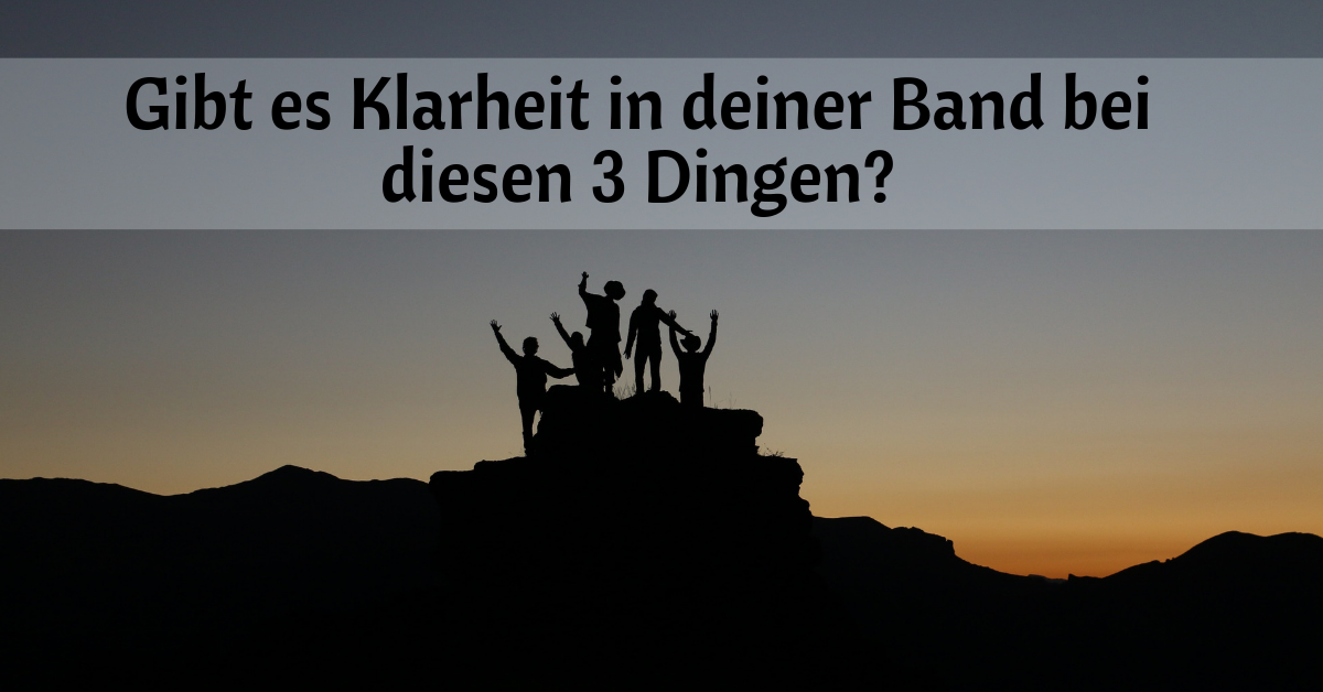 Klarheit in der Band